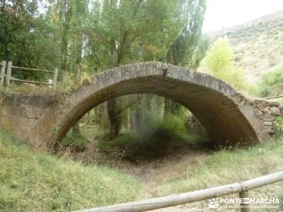 Hoces Río Duratón - Villa Sepúlveda; solana de ávila mapa y brujula